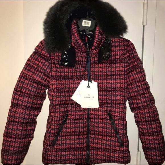 5810d9ee2 Moncler Bady Fur Printed R&B Jacket Size 1 (Small)
